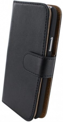 Mobiparts Classic Wallet Case Samsung Galaxy S4 Mini Black