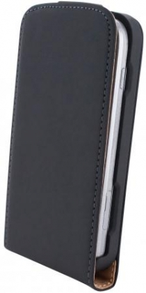 Mobiparts Premium Flip Case Sam Galaxy S Duos/Trend (Plus) Black