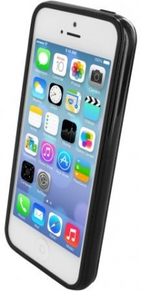Mobiparts Essential TPU Case Apple iPhone 5/5S/SE Black