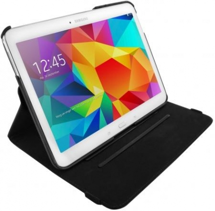 Mobiparts 360 Rotary Stand Case Samsung Galaxy Tab 4 10.1 Black