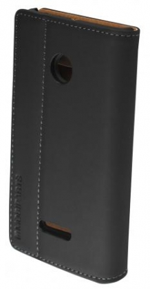 Mobiparts Premium Wallet Case Microsoft Lumia 435 Black