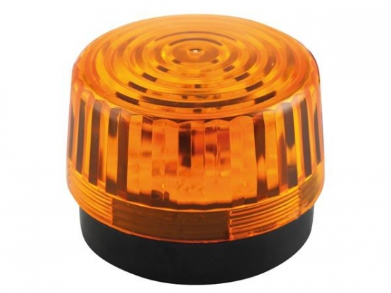 LED-KNIPPERLICHT - AMBER - 12 VDC -  ø 100 mm