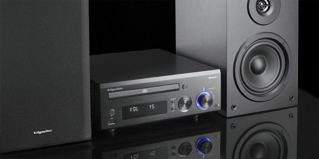 Krüger & Matz Micro hifi-set met CD-speler, bluetooth, USB en luidsprekers