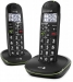 24511 Doro PhoneEasy 110 Duo Dect Black