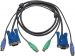 2L-5005P/C KVM Kabel VGA Female 15-Pins / 2x PS/2-Connector - VGA Male / 2x PS/2-Connector 5.0 m