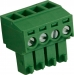 RND 205-00124 Female Connector Screw terminal Schroef connectie 4P