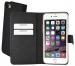 44082 Mobiparts Premium Wallet TPU Case Apple iPhone 6/6S Black