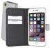 50523 Mobiparts Premium Wallet TPU Case Apple iPhone 6/6S Silver