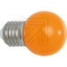EC540220 LED-lamp kogel oranje 1W / E27