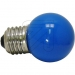 EC540230 LED-lamp kogel blauw 1W / E27