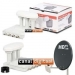 MS1111465 Triple LNB Quad