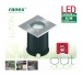 LED Grond Spot 3 W 230 lm 3000 K