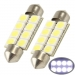 SYCMS1322 LED 12V VERVANGER 36MM BUISLAMP 8 LEDS