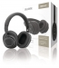 SWBTANCHS200BK Headset Bluetooth / ANC (Active Noise Cancelling) Over-Ear Ingebouwde Microfoon 1.20 m Zwart/Zilver