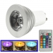 SYLED1402 3W RGB LED-spot GU10 incl. afstandsbediening
