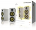 TH-03558WH Bluetooth-Speaker 2.0 Hoch 70 W Wit/Geel